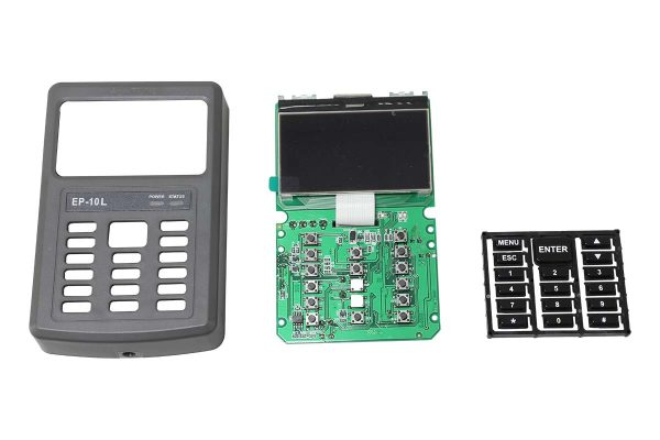 Proximity Card Reader with Monochrome LCD